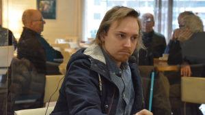 SDP:s Kenneth Liukkonen.