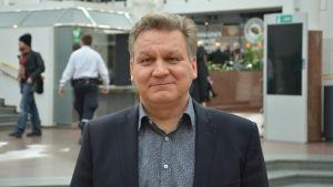 Timo Palviainen, chef för köpcentret Hansa.