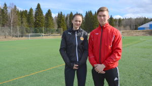 Tanja Ali-Marttila och Linus Ljung