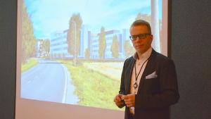 Tommy Grannas, fastighetschef på Wärtsilä.
