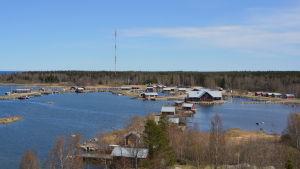 Svedjehamn i Björkö i Korsholm.
