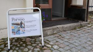 Borgå stads nya turistinformation i Gamla kaplansgården i Borgå 02.06.17