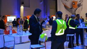 Kunddagen på Wärtsilä lockade ett 50-tal kunder, främst från Europa.