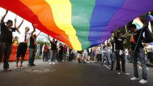 Prideparaden i Medellin 2016.