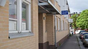 Hangö polisstation.