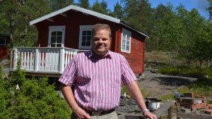 Magnus Nyström säljer fastigheter i Västra Nyland.