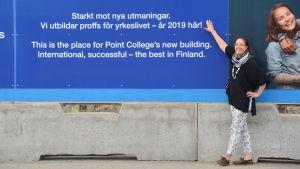 Sari Gustafsson, Point Colleges rektor.