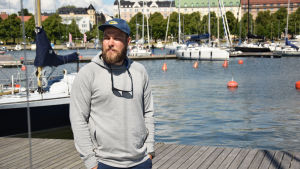 Björn-Axel Sjöblad på HSS.