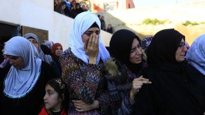Dodsoffer i sammandrabbningar pa vastbanken