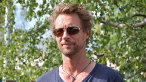 Skådespelaren Antti Reini sommaren 2014