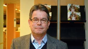 Psykiatriöverläkare Markku Paavola vid Borgå sjukhus.