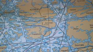 Kartbild över Erstan
