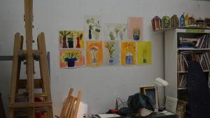Konstverk i konstskolan i Borgå