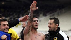 Jaros nyförvärv Giorgos Katidis gest år 2013 ledde till en permanent avstängning från grekisk landslagsfotboll.