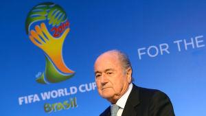 Fifas ordförande Sepp Blatter.