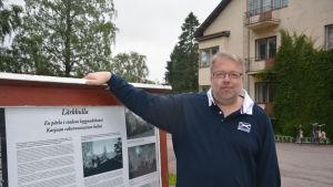 Juhan Jäntti är rektor för Lärkkulla folkakademi