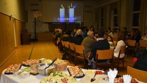Invandrarbyrån ordnade fest för syriska flyktingar och vänfamiljer i Raseborg