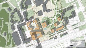 Förslag till nytt byggande i Esbo centrum