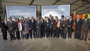 Ministrar från 60 länder samlades för förbereda klimatmötet i Paris