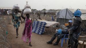 Över 70 procent av kivnnorna som har sökt skydd i FN-läger i huvudstaden Juba har våldtagits under den tre år långa konflikten