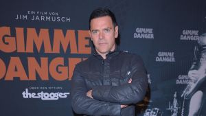 Richard Zven Kruspe, Rammstein Ankunft Iggy POPs Birthday Bash zum Konzert Kinofilm GIMME DANGER im KIno International in Berlin am 20.04.2017