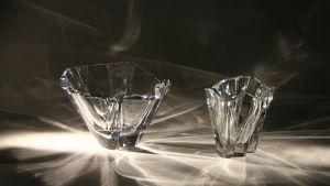 Tapio Wirkkalan suunnittelemia lasimaljoja