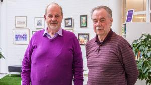 Hans Nyholm och Per Thomasfolk.