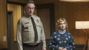 Kimmy Robertson och Harry Goaz i Twin Peaks