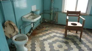 Gammal toalett