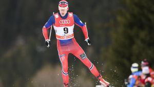 Anders Glöersen skrällde i Davos.