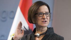 Österrikes inrikesminister Johanna Mikl-Leitner