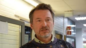 Arabetsmarknadsforskare Mika Helander