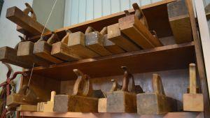 handhyvlar i trä hos borgå gamla järnhandel