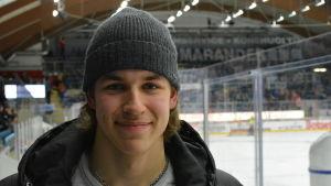 Tobias Åkerman hör till Vasa Sports juniororganisation.