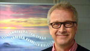 Robert Backman, rektor på Norra Korsholms skola.