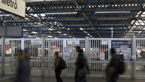 En stäng tunnelbanestation den 5 juni.