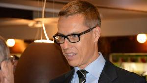 Alexander Stubb, Åbo Saluhall, 4.11.2014