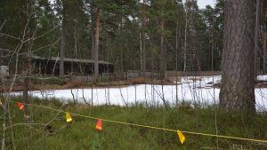 Det tidigare daghemmet Mäntykoto på Björknäsgatan är rivet.