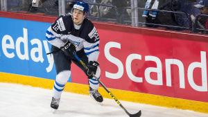 Kasper Björkqvist har varit en av väldigt få finländska ljusglimtar i JVM.