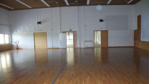 gymnastiksal i fastigheten raasepori resort.