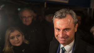 Österrikets presidentkandidat Norbert Hofer.