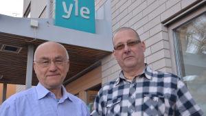 Kaj Lindholm och Egon Blomqvist