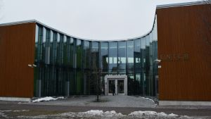 Sibbo gymnasium och Keuda i Nickby.