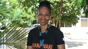 Usu Mallya arbetar för UN Women i Dar es Salaam, Tanzania.