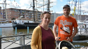 Tall Ships Races-besökare.