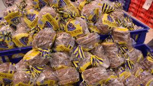 Rågbröd i butik