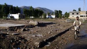 Pakistanska myndigheter rev Osama bin Ladens hus