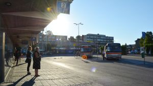 Borgå busstation.