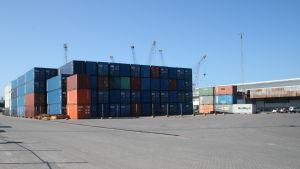 Dar es Salaams hamn i Tanzania.