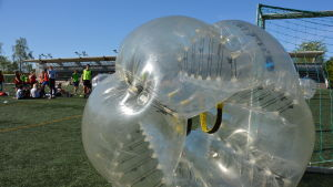 bubbelfotboll i åbo
